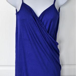 BEACH HAUS SWIMSUIT Coverup Wrap Dress COBALT BLUE